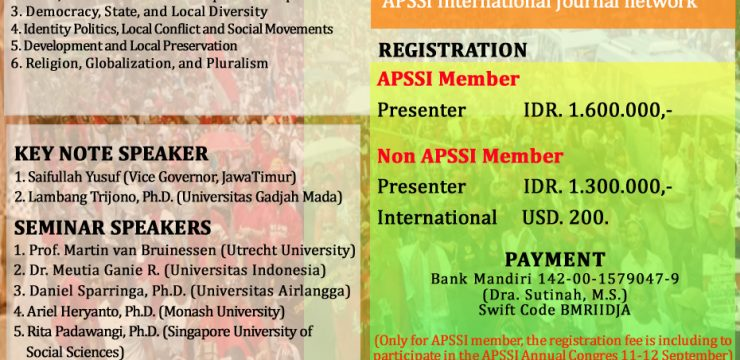 APSSI INTERNATIONAL CONFERENCE 2017