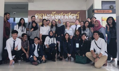 TWO SOCIOLOGY STUDENTS OF UNAIR GAINS SOCIOLOGICAL KNOWLEDGE FROM SHORT EXCURSION PROGRAM IN THAILAND