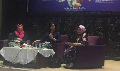 Prof. Emy Susanti, Professor of Sociology Department of FISIP UNAIR, Emphasizes Women