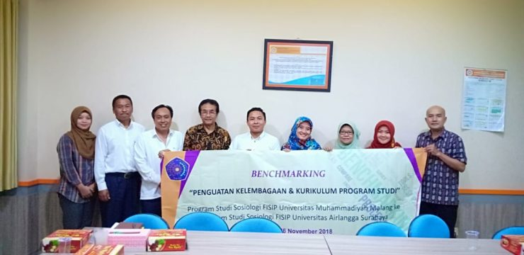 Muhammadiyah Malang's Sociology Visits FISIP UNAIR's Sociology for Benchmarking